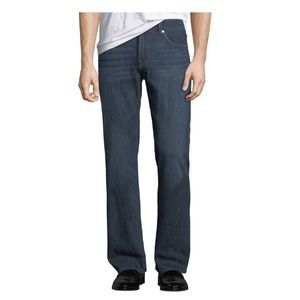 7fam Brett clean dark wash cotton jeans